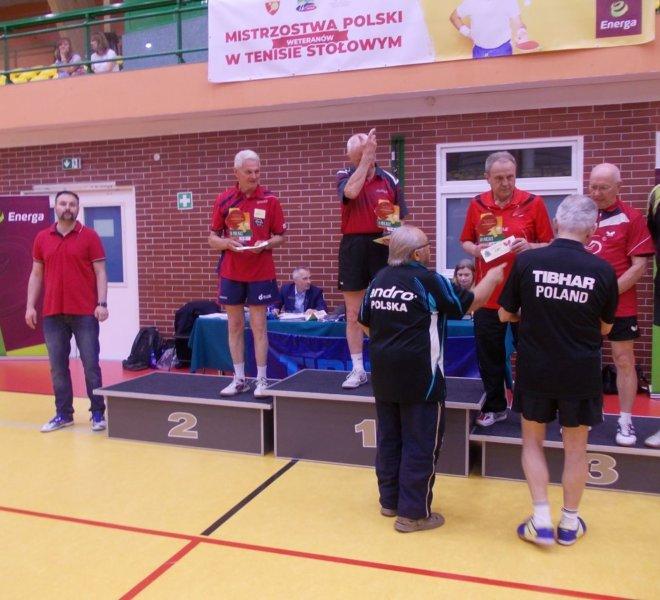 2 miejsce klasyfikacja generalna Grand Prix Polski Weteranów w sezonie 20172018 Janusz Malarz kat 75+