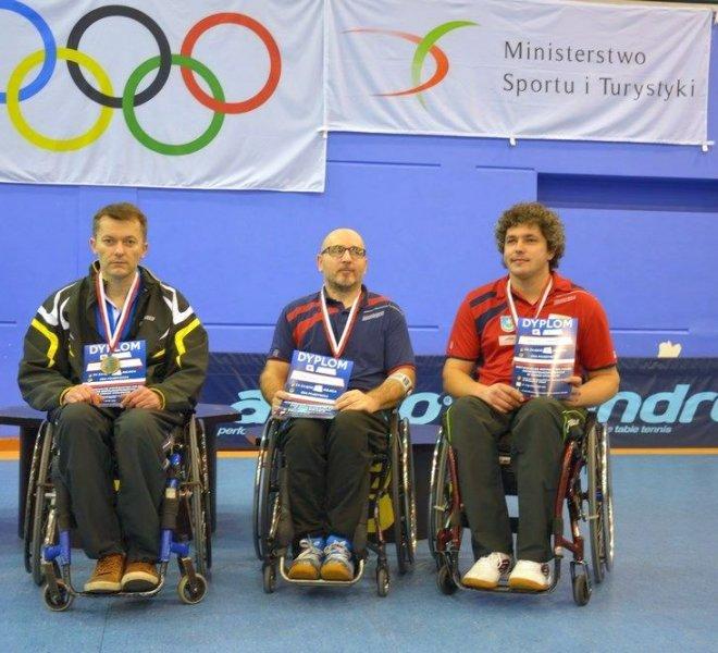 Janusz CHAMOT klasa 3 - brązowy medal w singlu