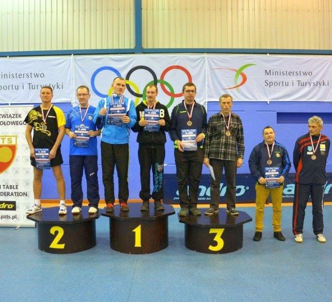 Jerzy ZAJDEL Marek CHYBIŃSKI klasa 11 - brązowy medal w deblu