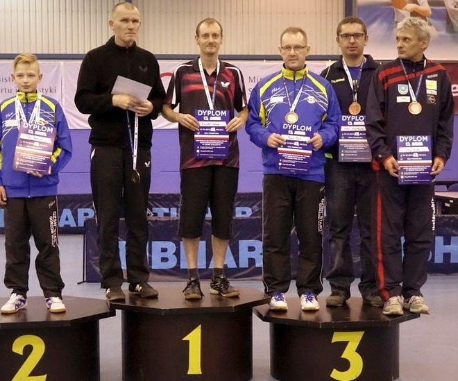 Jerzy ZAJDEL brązowy medal debel klasa 11