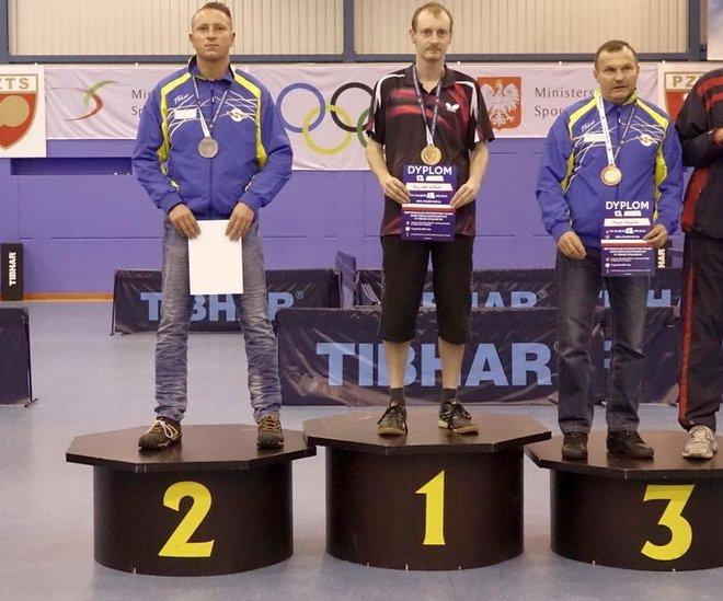 Jerzy ZAJDEL brązowy medal singiel klasa 11