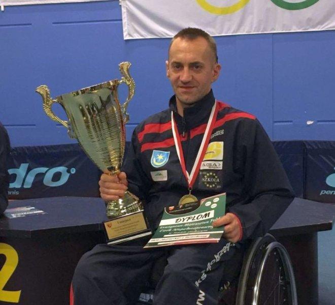 Maciej Nalepka IKS JEZIORO Tarnobrzeg Drużynowy Mistrz Polski 2016