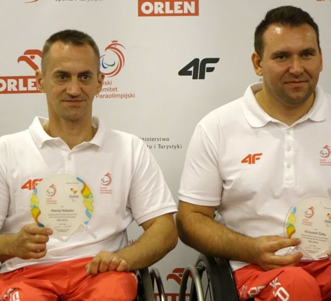 Maciej Nalepka i Krzysztof Żyłka IKS Jezioro Tarnobrzeg A
