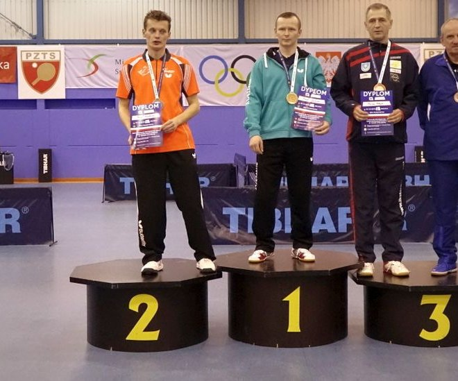 Mariusz MATEJEK brązowy medal singiel klasa 9