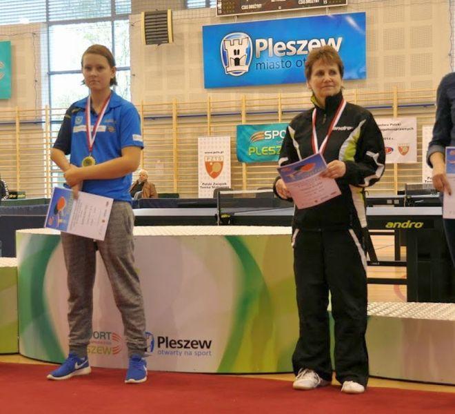 Mistrz Polski Karolina Pęk w klasie 9-10