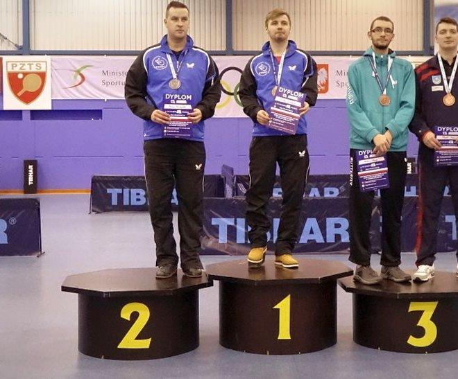 Paweł MAZURYK brązowy medal singiel klasa 8