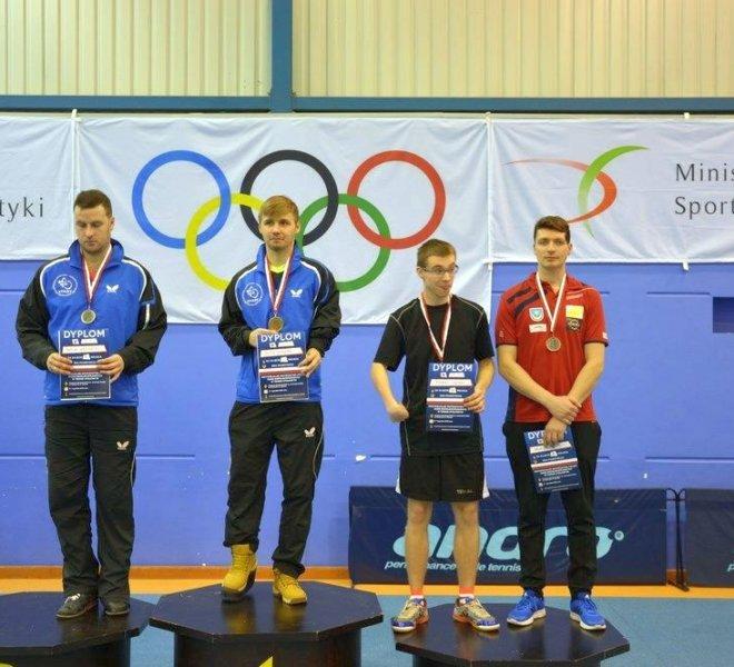 Paweł MAZURYK klasa 8 - brązowy medal w singlu