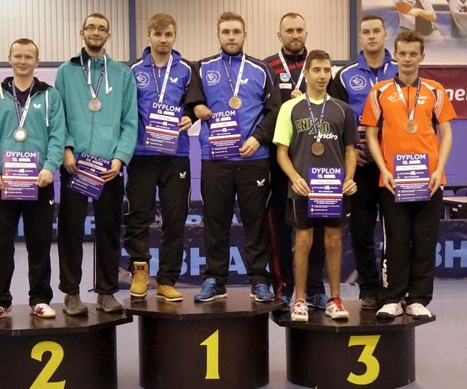 Paweł WŁODYKA brązowy medal debel klasa 6-10