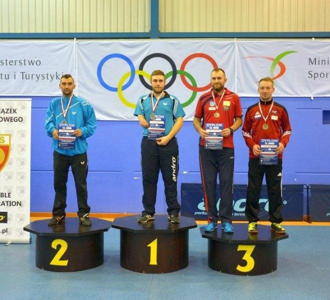 Paweł WŁODYKA klasa 10 - brązowy medal w singlu