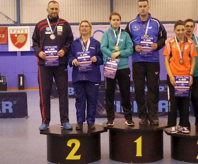 Paweł WŁODYKA srebrny medal mikst klasa 6-10