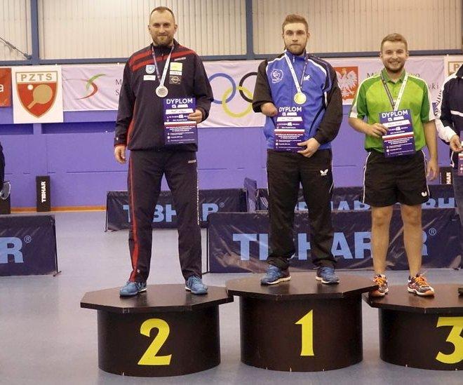Paweł WŁODYKA srebrny medal singiel klasa 10