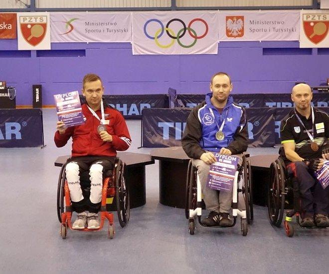 Piotr SOKALSKI – brązowy medal singiel wózki klasa 1-2