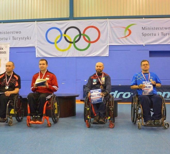 Piotr SOKALSKI klasa 1-2 – brązowy medal w singlu