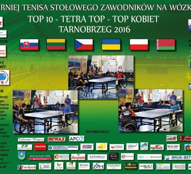 Plakat Turniej TOP 10 2016