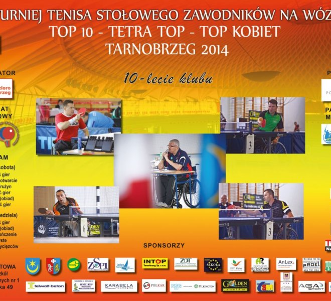 Plakat Turniej TOP 10 2014 A.indd