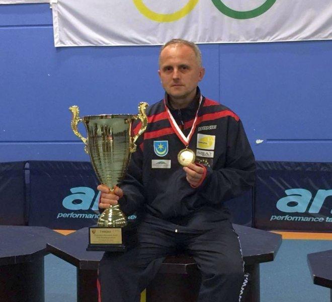 Trener Jacek Lachor IKS JEZIORO Tarnobrzeg Drużynowy Mistrz Polski 2016