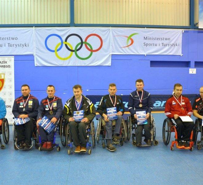 złoty medal Maciej NALEPKA IKS Mariusz CZERWIŃSKI Start Radom w klasie 1-5