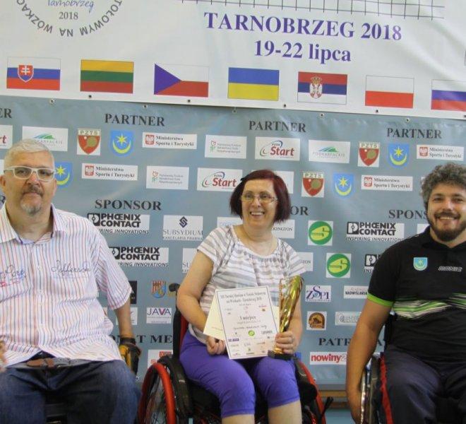 3 miejsce Klasa kobiet 2-4 Spomenka Habetinkova a