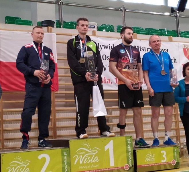 Dawid Sowa brązowy medal klasa 9