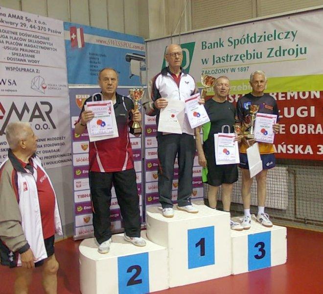 3 miejsce J. Malarz w Klasyfikacji Generalnej Weteranów w kat 75+ sezon 2018 19