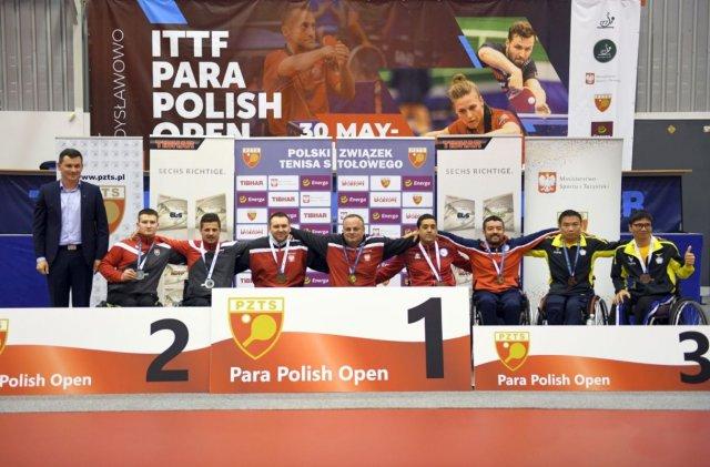 Krzysztof Żyłka Rafał Lis złoty medal w drużynie kl. 4