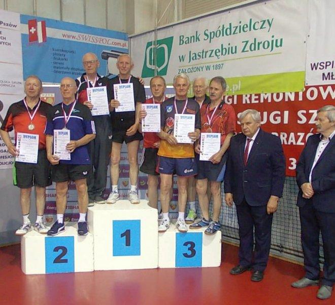 brązowy medal IMP Weteranów 2019 w deblu w kat 75+ J. Malarz
