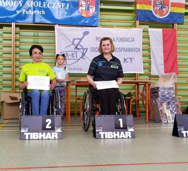 1 miejsce Kobiety klasy startowe 3-5 Emilia Kotarska IKS JEZIORO Tarnobrzeg