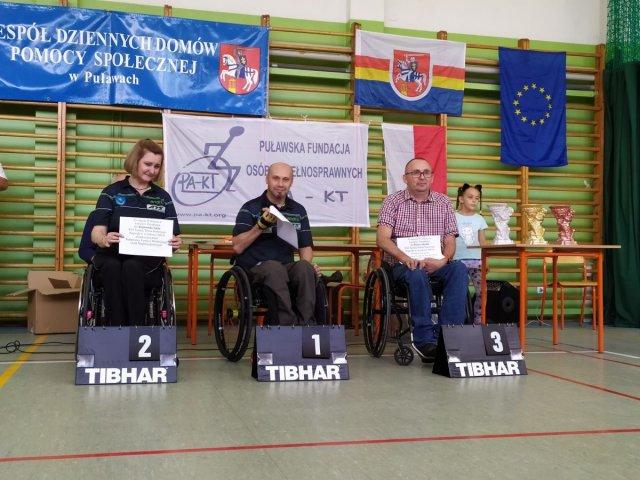 1 miejsce Piotr Sokalski 2 miejsce Rajmund Zięba klasy startowe 1-2