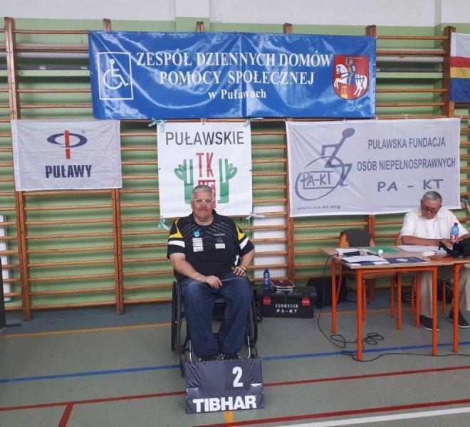 2 miejsce klasy startowe 1-2 Rajmund Zięba