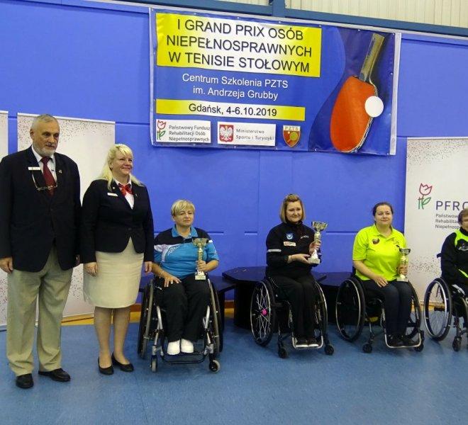 Emilia Kotarska w klasie łączonej 3-5 wózki kobiet 1 miejsce