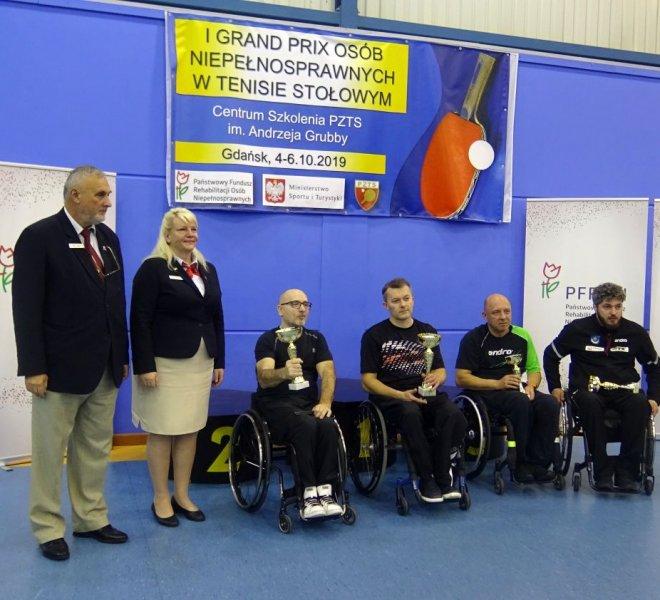 Janusz Chamot klasa 3 wózki 3 miejsce
