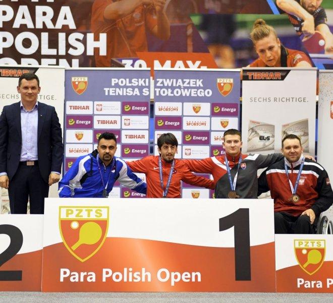 Krzysztof Żyłka brązowy medal w singlu kl. 4