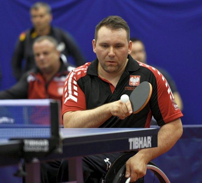 Krzysztof Żyłka brązowy medal w singlu kl. 4 z z