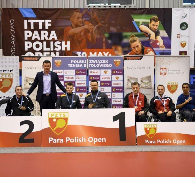 Maciej Nalepka Mariusz Czerwiński brązowy medal w drużynie kl. 3