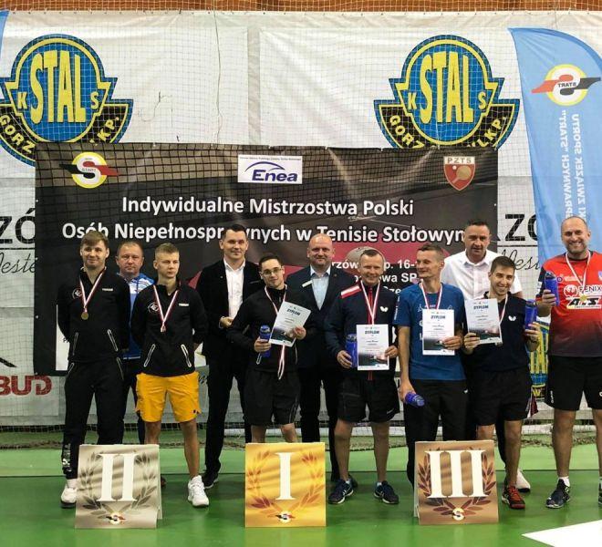 klasa 7-10 Paweł Włodyka IKS JEZIORO Tarnobrzeg Maksym Chudziki debel brązowy medal IMP 2021